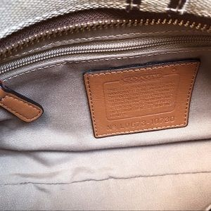 Coach Bags - Coach shoulder bag Large Logo C
